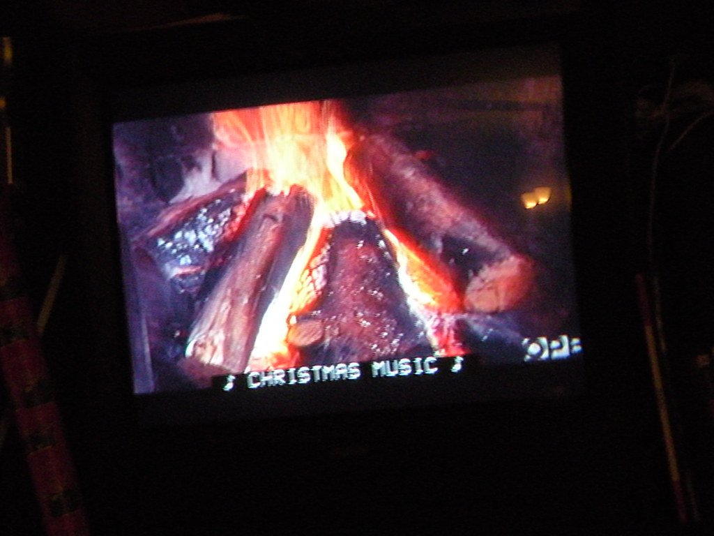 This is the Yule Log tv show | This is the Yule Log tv show.… | Flickr