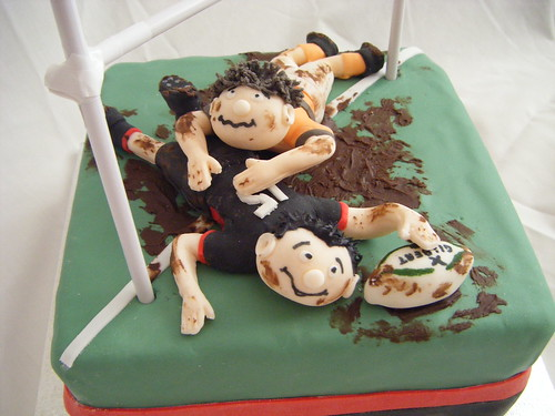 Cake Decorating Job In Uk : Rugby Cake A commission for a keen rugby player s 13th ...