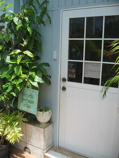 Palmetto Guesthouse Office Door | by palmettoculebra