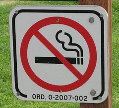 don't smoke sign | by TooFarNorth