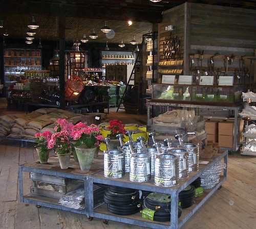 The Hardware Barn at terrain at Styers houses tools, amendments, books and other hard goods - but no chemicals | by Garden Media Group