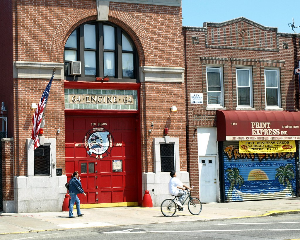 E064 fdny firehouse engine 64 castle hill bronx new yor flickr e064 fdny firehouse engine 64 castle hill bronx new york city by reheart Choice Image