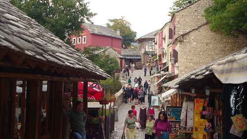 Old Part and shopping Street of Mostar | by Alexanyan