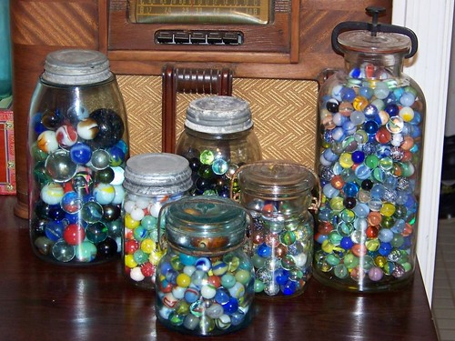 Jars of Marbles | by alexkerhead
