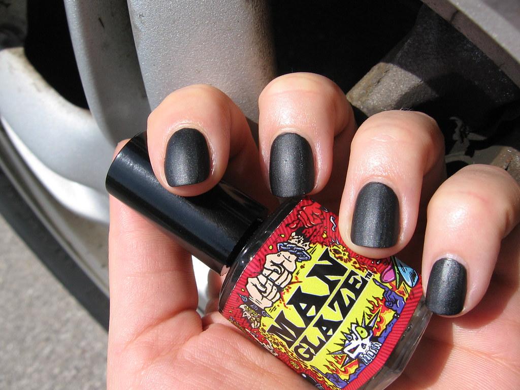 MANGLAZE BLACK MATTE | makeuppics | Flickr