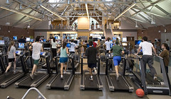 Working out in the Fitness Center in Alumni Gym | by Dartmouth Flickr