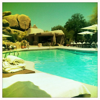 AZ vacation, 2011.  The Boulders Pool | by pinkpicketfence