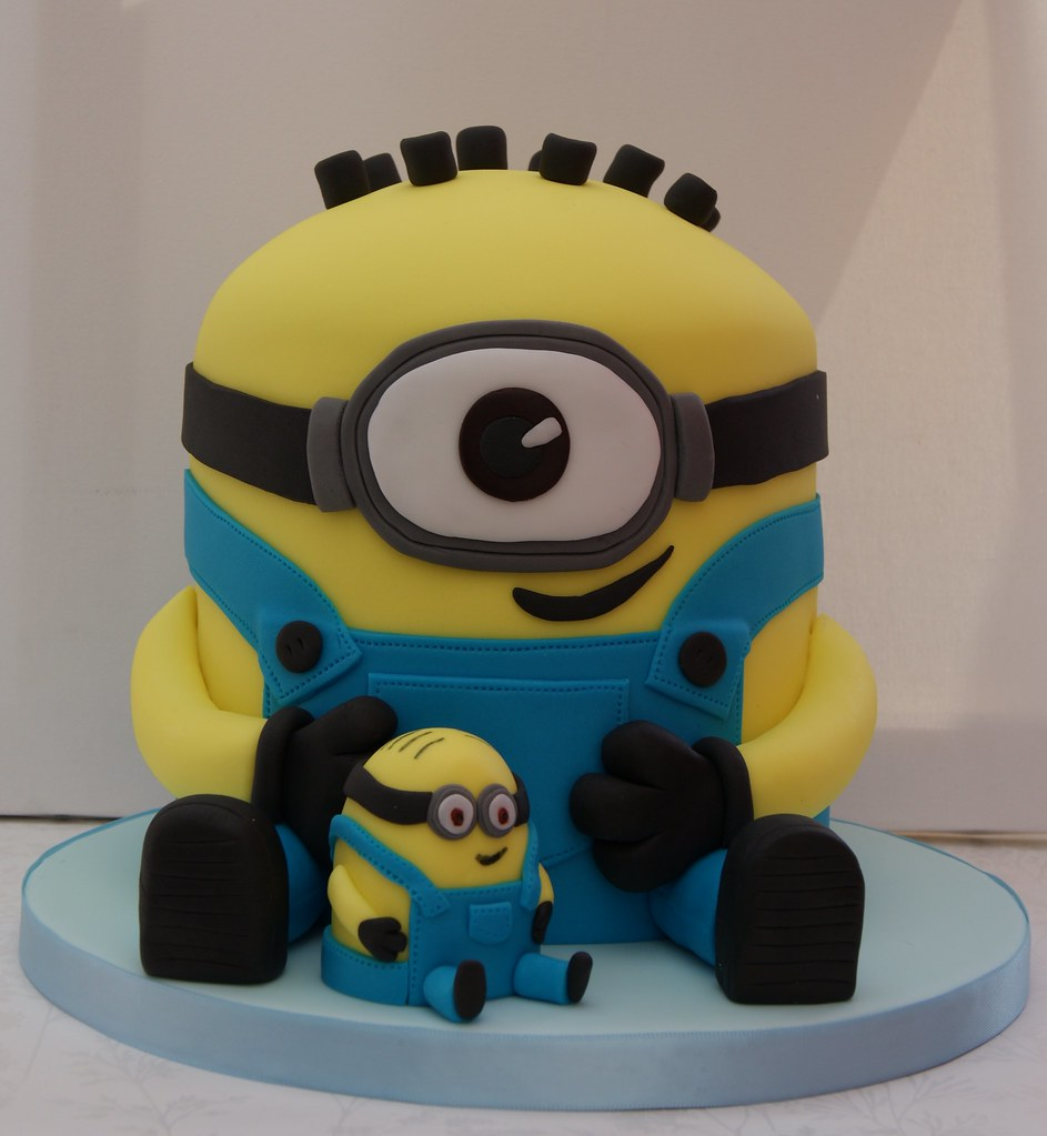 Despicable Me Minion Cake Made For My Good Friends Son J Flickr