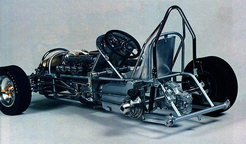 Share midget car chassis