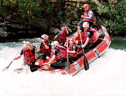 RAFTING LLAVORSSI SPAIN | by Pierre Mallien