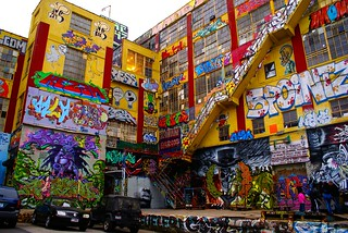 Long Island City Graffiti Building aka Five Pointz. | by woodendesigner
