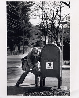 Letter Carrier Retrieving Mail | by Smithsonian Institution