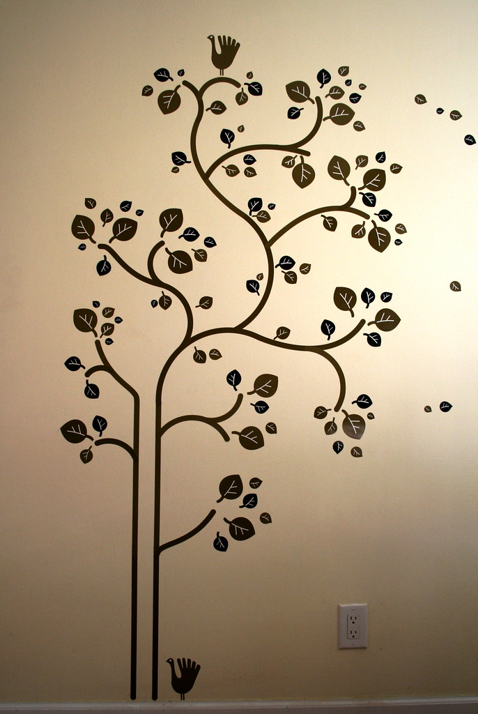... IKEA Slätthult Folk Tree - Wall Decals | by caruba