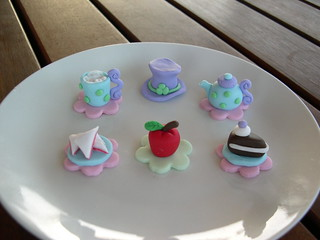 Mossy's masterpiece Mad hatters tea party cupcake toppers | by Mossy's Masterpiece cake/cupcake designs