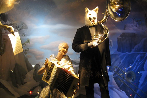 NYC: Bergdorf Goodman's 2008 Holiday window display | by wallyg