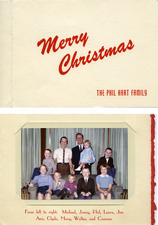 Phil Hart family Christmas card, 1958 | by Joey Harrison