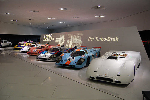 Porsche Museum Stuttgart Germany The New Porsche