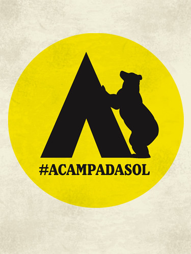 #acampadasol | by gloop!