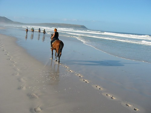 Sharon horse riding in Cape Town 2003 | by sharon.schneider
