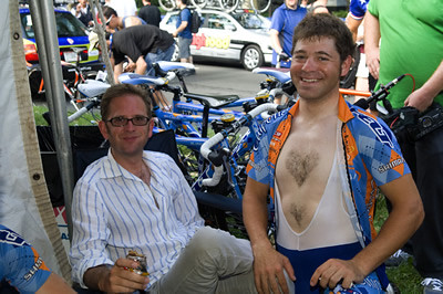 Jonathan Vaughters, Mike Friedman, Philadelphia International Championships | by Team Garmin-Sharp