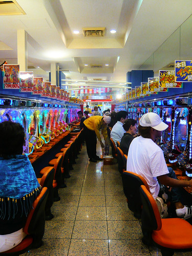 Inside a pachinko parlor | by DocChewbacca