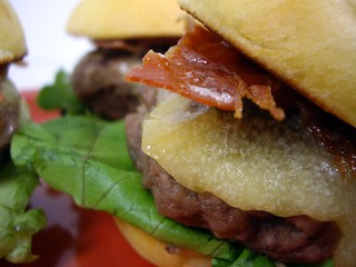 Closeup View of Brioche Sliders | by swampkitty