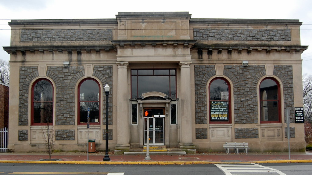 Pitman National Bank Building Front View