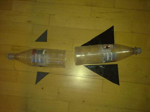 Water bottle rocket 1
