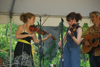 Hanneke Cassel Trio on the Heritage Stage | by Thom C