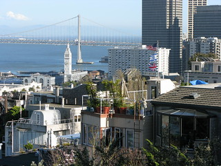 BayBridgeFromCoitTower | by oseres