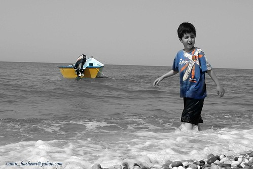 Alireza & sea | by s.amir_hashemi1