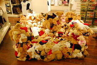 Harrod's Stuffed Animal Couch | by memimenam