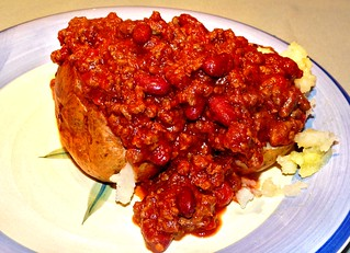 Chilli Con Carne with Jacket Potato | by Grete Howard