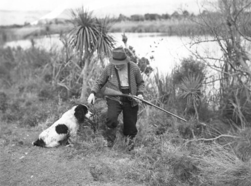 New Zealand Shooting Gallery: Description: Duck Shooting Photographer