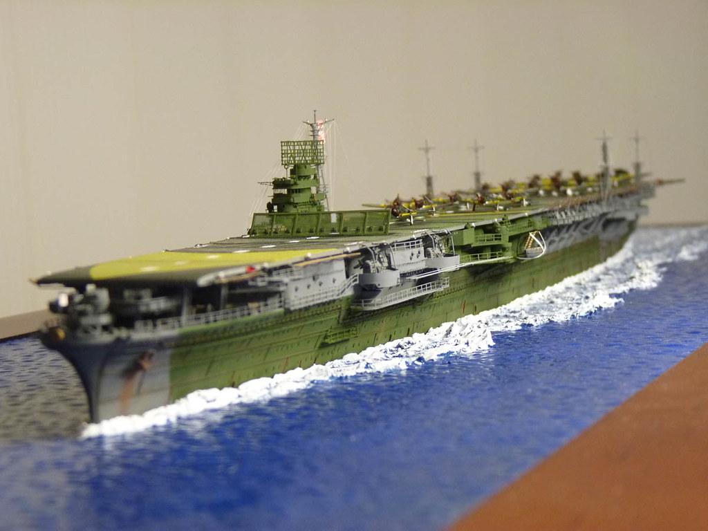 Aircraft carrier models large scale -  Ijn Zuikaku 1 500 Scale Nichimo Winner Of Large Scale Ship Category