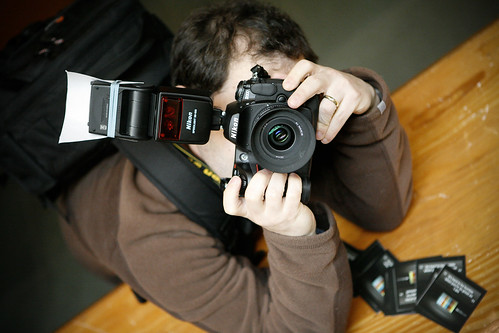 Ianiv Wuvs His New Camera @ Northern Voice 2008 | by Kris Krug