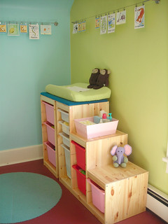 Trofast system as a changing table - Mobile trofast ikea ...