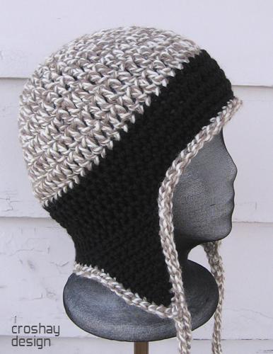 Crocheted Earflap Cap | Flyflap Earflap Cap by Laura Killora… | Flickr