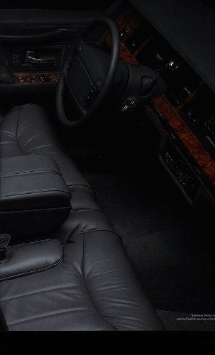 1994 lincoln town car signature series interior shown in flickr. Black Bedroom Furniture Sets. Home Design Ideas
