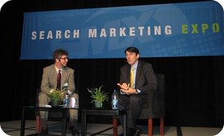 Keynote with Google's Tim Armstrong at SMX East | by rustybrick
