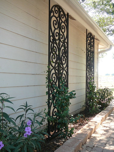 Faux Wrought Iron Custom Lattice These Tableaux