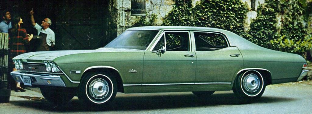 1968 chevrolet chevelle malibu 4 door sedan coconv flickr 4 Door Impala 1968 chevrolet chevelle malibu 4 door sedan by coconv
