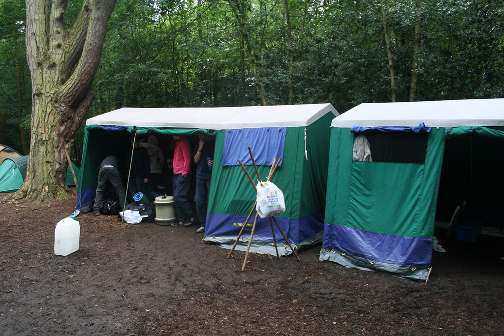 ... Dining shelter and mess tents | by jaywood_uk & Dining shelter and mess tents | scout camp 2008 - Bentley Cou2026 | Flickr