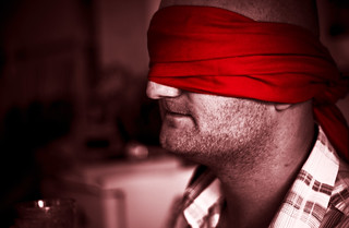 Red Blindfold | by left-hand