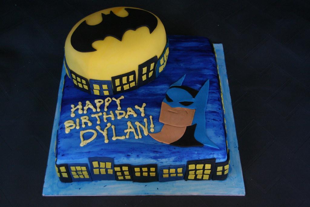 Batman Birthday Cake A Batman cake for a 5th birthday part Flickr