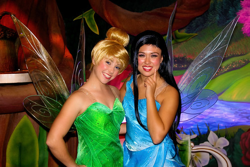 WDW Dec 2008 - Meeting Tink and Silvermist | by PeterPanFan