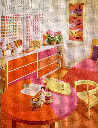 Pink Amp Orange Room Scan From Quot The Practical