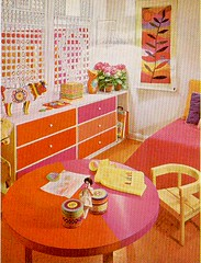 Pink & Orange Room | by lunger girl