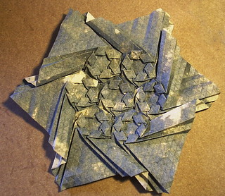 wreath tessellation - front | by origami joel