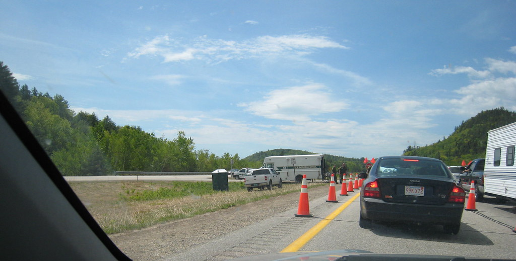 Border Patrol Checkpoint In New Hampshire 1 By Chrisdag